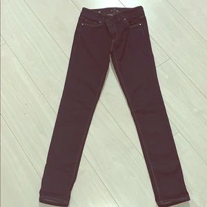 White House Black Market Skinny Jean Sz 0p
